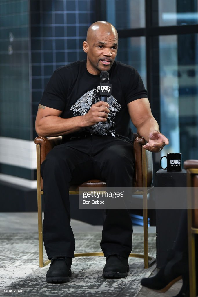 Darryl 'DMC' McDaniels visits the Build Series to discuss the Garden of Dreams foundation at Build Studio on March 19, 2018 in New York City.