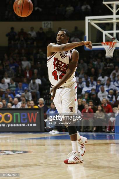 Darryl Dora of Texas Tech during semifinal action between Texas Tech and Marquette at the annual CBE Classic at Municipal Auditorium in Kansas City...