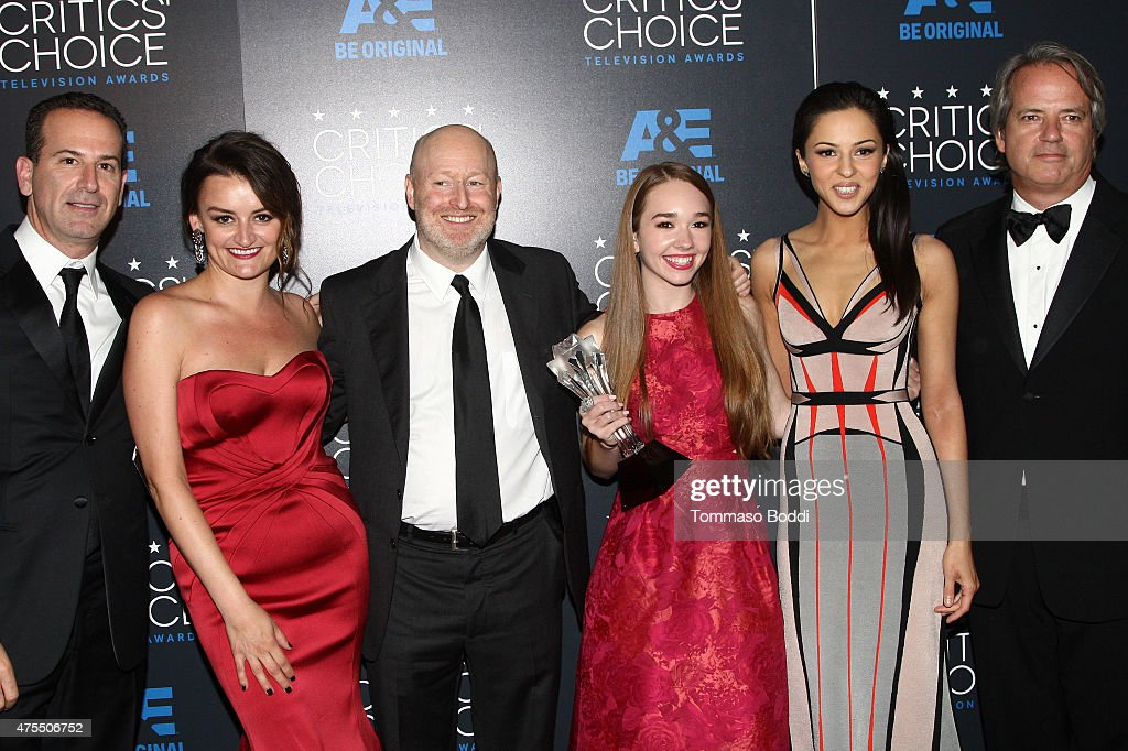 5th Annual Critics' Choice Television Awards - Press Room : News Photo