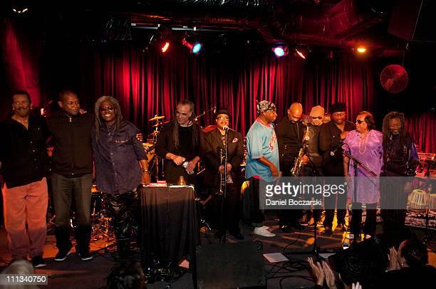 Darryl Jones DJ Logic Blackbird McKnight Mino Cinelu Nicholas Payton Vince Wilburn Jr Gary Thomas John Beasley Darryl Jones Badal Roy and Robert...
