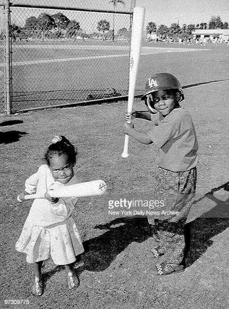 Darryl Jr aka DJ and sister Diamond children of New York Mets' Darryl Strawberry