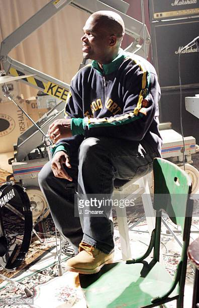 Darryl McDaniels aka DMC during DMC on Location for Machine Gun Music Video June 13 2005 in Hollywood California United States