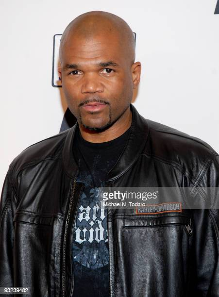 Darryl Mcdaniels attends a screening of ''The People Speak'' at Frederick P. Rose Hall, Jazz at Lincoln Center on November 19, 2009 in New York City.