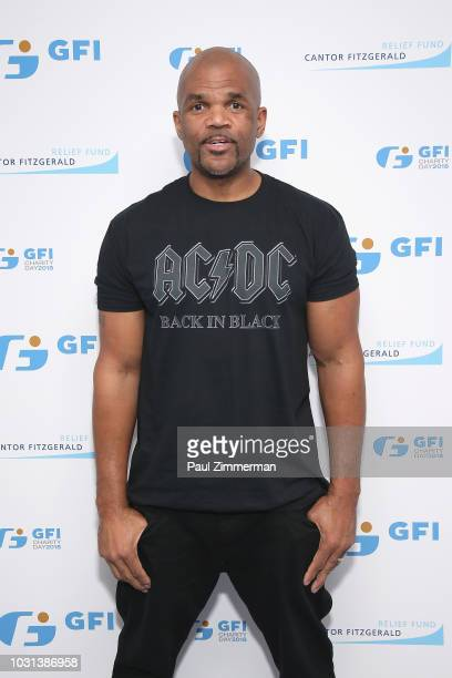 Darryl McDaniels attends Annual Charity Day hosted by Cantor Fitzgerald, BGC and GFI at GFI Securities on September 11, 2018 in New York City.