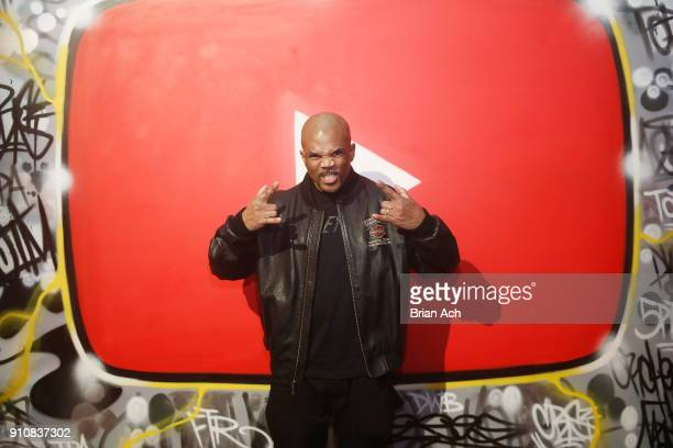 Darryl McDaniels attends YouTube brings the BOOM BAP BACK to New York City With Lyor Cohen Nas Grandmaster Flash QTip Chuck D and Fab 5 Freddy on...