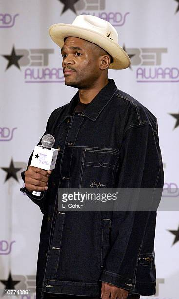 Darryl McDaniels DMC of Run DMC during The 3rd Annual BET Awards Electronic Media Room at The Kodak Theater in Hollywood California United States