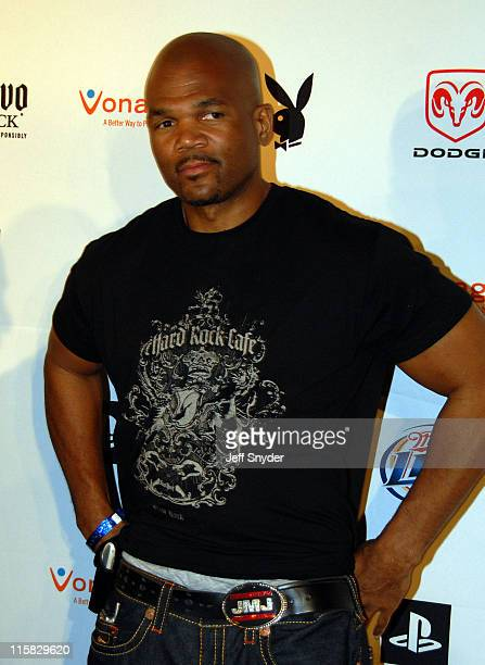 Darryl McDaniels during Playboy's 8th Annual Super Saturday Night at American Airlines Arena in Miami Florida United States