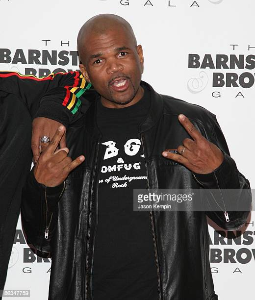 Darryl McDaniels of Run DMC attends the Barnstable Brown Party Celebrating The 135th Kentucky Derby at Barnstable Brown House on May 1 2009 in...