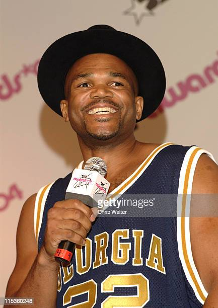 Darryl McDaniels of Run DMC during 2004 BET Awards Media Room in Hollywood California United States