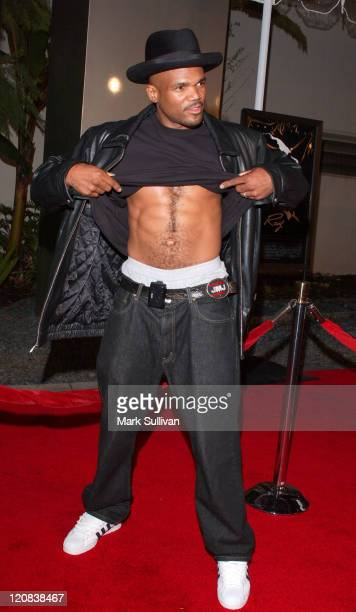 Darryl McDaniels of Run DMC during Ray Los Angeles Premiere Arrivals at Cinerama Dome in Hollywood California United States