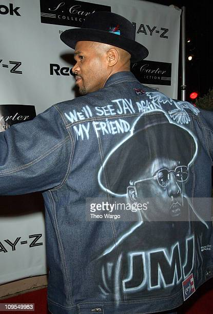 Darryl McDanielsDMC of Run DMC during 2003 NBA AllStar Weekend Reebok and JayZ to Launch the S Carter Collection by Rbk at Velvet Room in Atlanta...