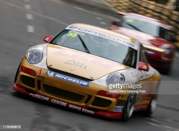 Darryl O'Young from Hong Kong drive his Porsche during practiced in Porsche Carrera Cup Asia who took provisional pole 15 NOVEMBER 2007