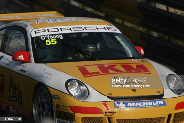Darryl O'Young from Hong Kong drive his Porsche during qualifying in Porsche Carrera Cup Asia who took provisional pole 16 NOVEMBER 2007