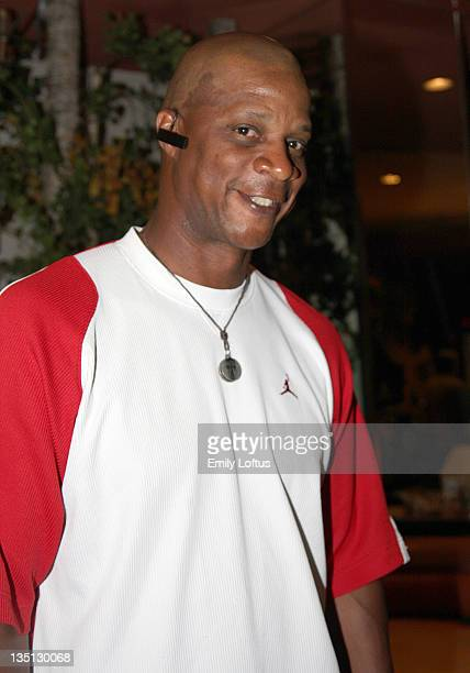 Darryl Strawberry attends the Backstage Creations 2008 American Century Championship Golf Tournament on July 9 2008 in Lake Tahoe California