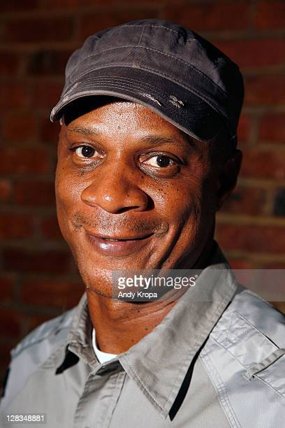 Darryl Strawberry greets fans at the Village Pourhouse on October 6 2011 in New York City