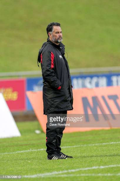 Darryl Suasua, head coach of Counties Manukau before the round 9 Mitre 10 Cup match between Counties Manukau and Hawke's Bay at Navigation Homes...