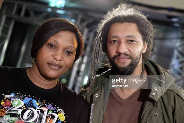 Darstellerin Vera Tshanda Beya und Regisseur Alain Gomis zu Gast im RadioEins Berlinale Nighttalk aus der XXLounge anlässlich der 67 Berlinale