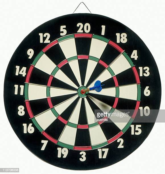 Dartboard bull's eye