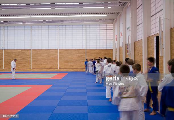 Dartford Judo Club, Dartford, United Kingdom, Architect Make, Dartford Judo Club Dojo With Judo Class.