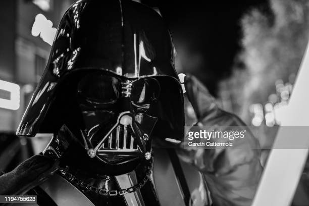 Darth Vader at the European premiere of Star Wars The Rise of Skywalker at Cineworld Leicester Square on December 18 2019 in London England