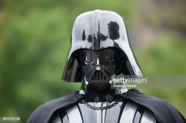 Darth Vader attends for 'Star Wars Episode V The Empire Strikes Back' photocall at Edinburgh Castle during the Edinburgh International Film Festival...