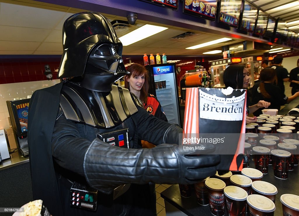 "Opening Night Of Walt Disney Pictures And Lucasfilm's ""Star Wars: The Force Awakens"" At The Brenden Theatres : News Photo"