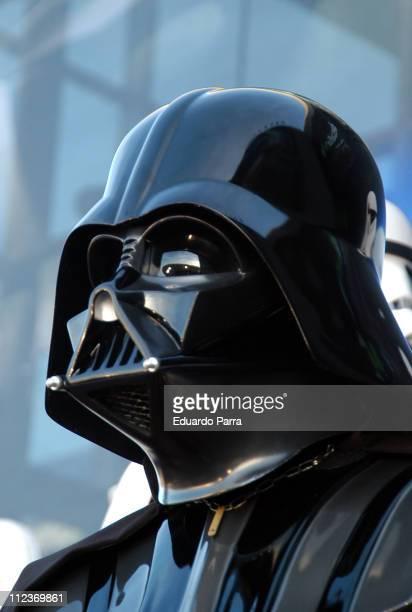 Darth Vader during Star Wars Episode III Revenge of the Sith Madrid Premiere at Kinepolis Cinema in Madrid Spain