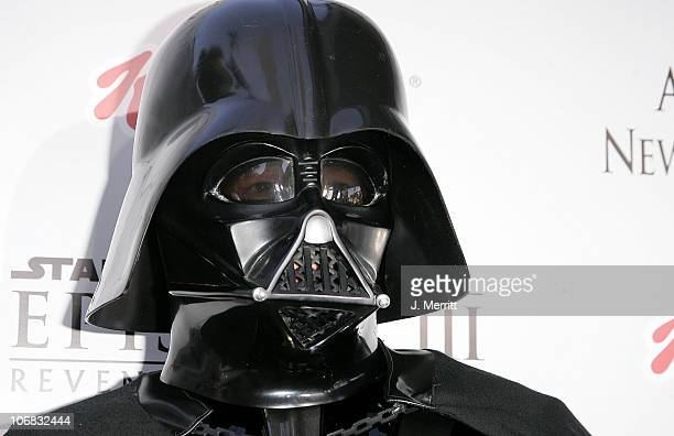 Darth Vader during 'Star Wars Episode III Revenge of The Sith' Premiere to Benefit Artists for a New South Africa Charity Arrivals at Mann Village...
