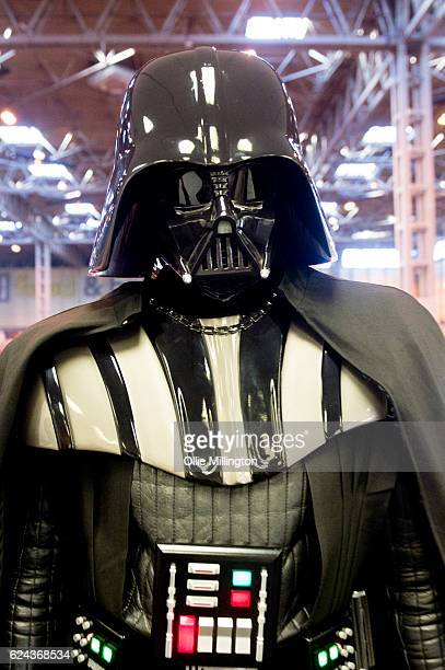 Darth Vader from Star Wars at the National Exhibition Centre in Birmingham UK on November 19 2016 in Birmingham England