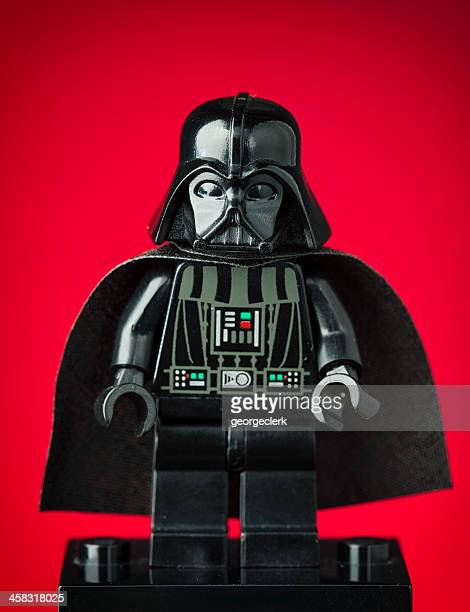 darth vader lego minifigure - dictator stock pictures, royalty-free photos & images