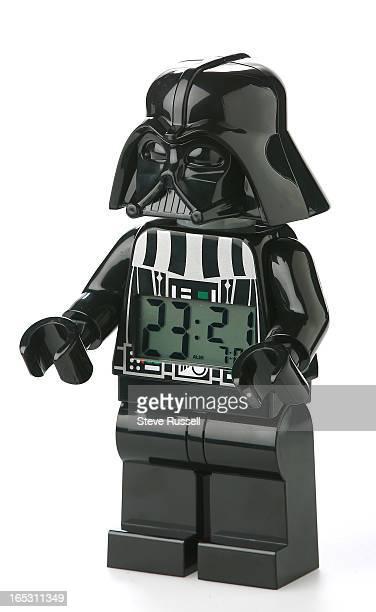 Darth Vader oversize Lego alarm clock Derick Chetty Holiday Gifts in Toronto December 6 2011 STEVE RUSSELL/TORONTO STAR