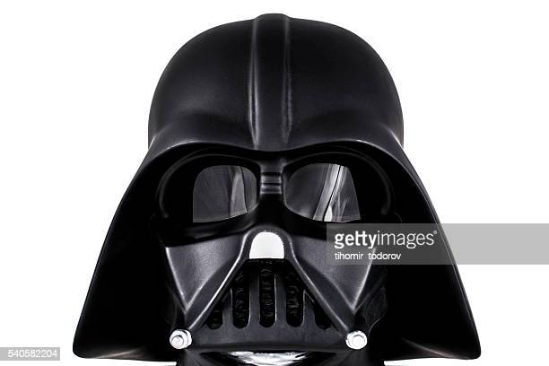 darth vader's head - star wars stock pictures, royalty-free photos & images