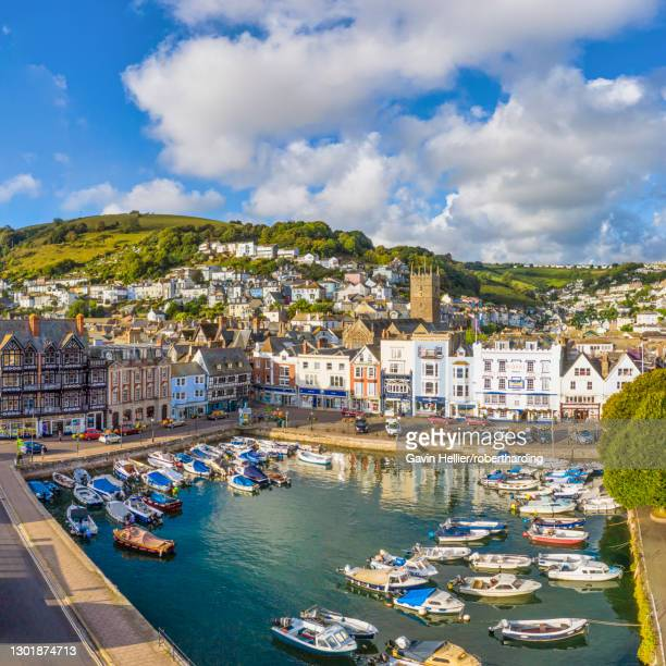 dartmouth, devon, england, united kingdom, europe - gavin hellier stock pictures, royalty-free photos & images
