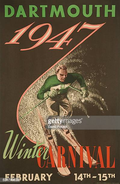 Dartmouth Winter Carnival Poster by DB Leigh