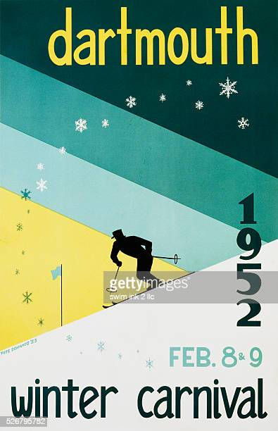Dartmouth Winter Carnival Poster by Pete Dohanos