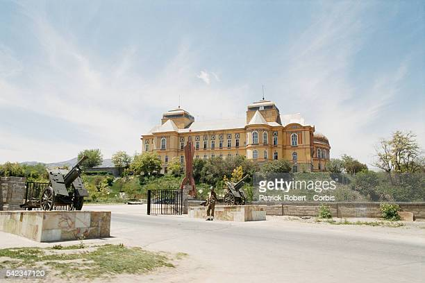 Darulaman Palace, headquarters of the Soviet Union's Red Army based in Kabul.