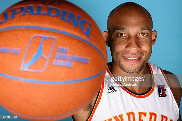Darvin Ham of the Albuquerque Thunderbirds poses for a portrait during DLeague media day on November 13 2007 at the Open Court in Lehi Utah NOTE TO...