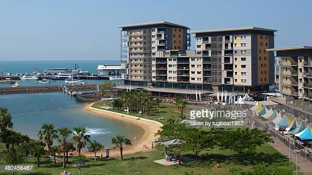 Darwin Harbour  and beach Australia