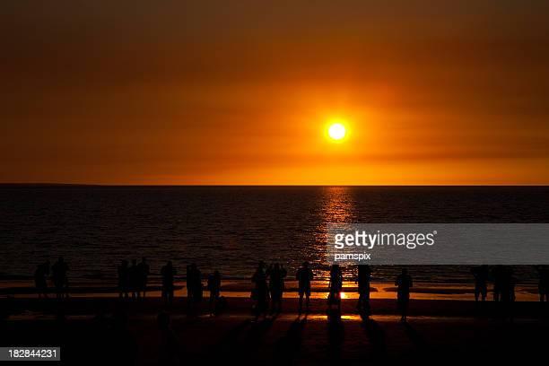 Darwin coucher du soleil