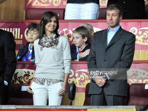 Darya JOUKOVA / Roman ABRAMOVICH Manchester United / Chelsea Finale Champions League 2007/2008 Moscou