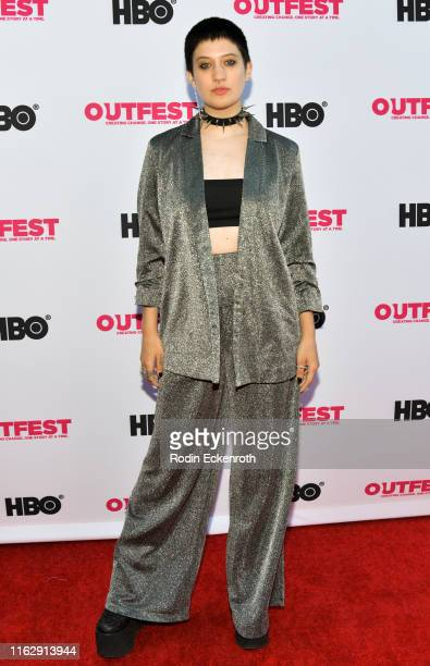 Daryen Ru attends the Outfest Los Angeles LGBTQ Film Festival Opening Night Gala premiere of Circus Of Books at Orpheum Theatre on July 18 2019 in...