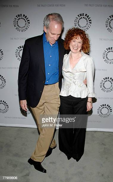 Daryl Anderson and Linda Kelsey attend Back In Circulation A Lou Grant Reunion at the Paley Center For Media on November 16 2007 in Beverly Hills...