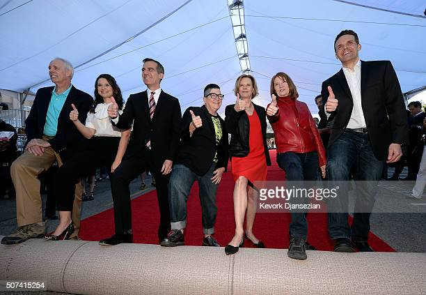 Daryl Anderson SAG Awards CommitteeVice Chair actress Katie Lowes SAG Awards Social Media Ambassador Los Angeles Mayor Eric Garcetti actress Lea...