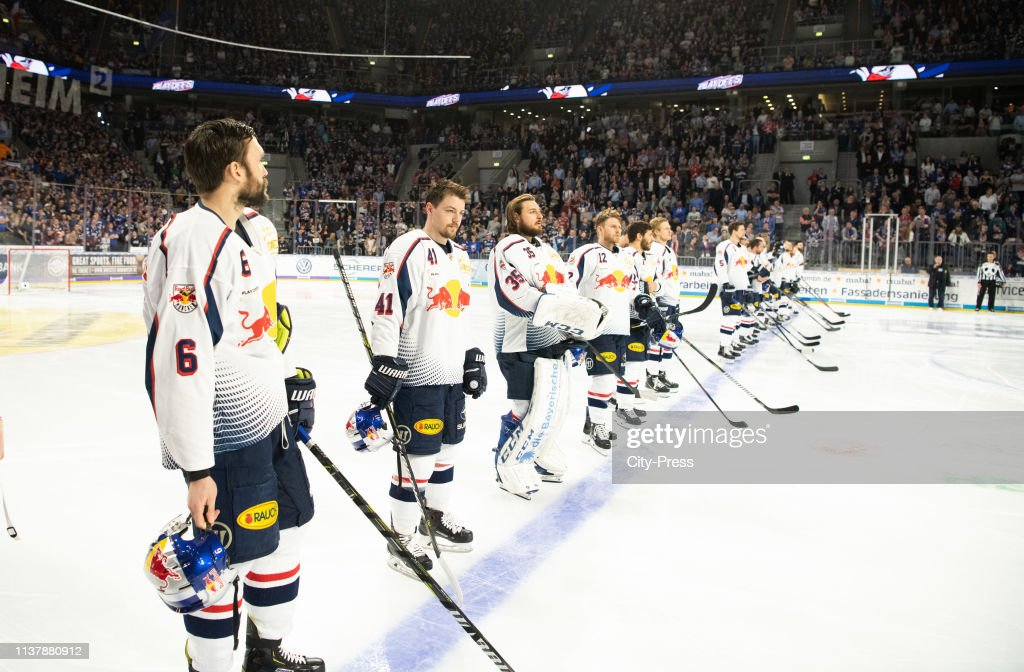 DEU: Adler Mannheim v EHC Red Bull Muenchen - DEL Playoffs Final Game 1