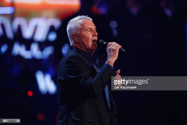 Daryl Braithwaite accepts a Hall of Fame ARIA during the 31st Annual ARIA Awards 2017 at The Star on November 28 2017 in Sydney Australia