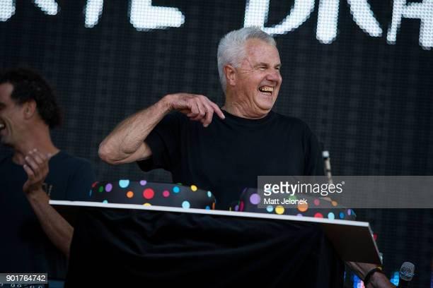 Daryl Braithwaite celebrates his 69th Birthdat at Falls Festival on January 6 2018 in Fremantle Australia