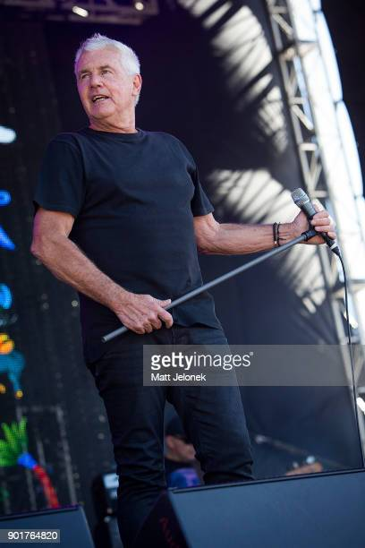 Daryl Braithwaite performs at Falls Festival on January 6 2018 in Fremantle Australia