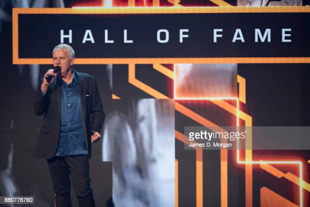 Daryl Braithwaite performs during the 31st Annual ARIA Awards 2017 at The Star on November 28 2017 in Sydney Australia