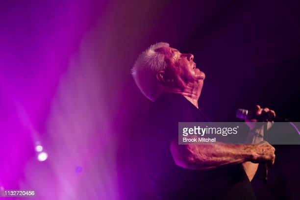Daryl Braithwaite performs during the OzHarvest CEO Cookoff on March 25 2019 in Sydney Australia