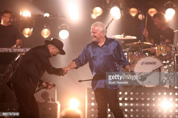 Daryl Braithwaite performs on stage during the 31st Annual ARIA Awards 2017 at The Star on November 28 2017 in Sydney Australia